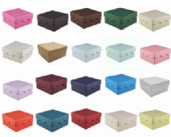 Scallop Lid Wedding Favour Boxes - Different Colours - SC17